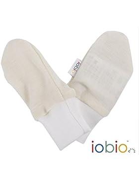 Iobio Neugeborenenhandschuhe Kratzhandschuhe Wolle-Seide Fäustlinge