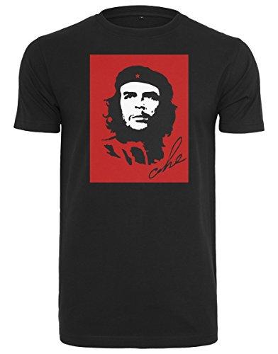 MERCHCODE Herren Che Guevara Tee T-Shirt black