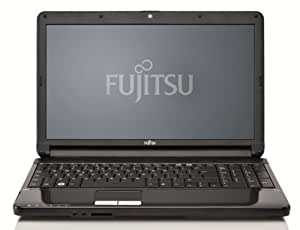 Fujitsu Lifebook AH530 39,6 cm (15,6 Zoll) Notebook (Intel Pentium P6200, 2,1GHz, 4GB RAM, 500GB HDD, Intel HD, DVD, Win 7 HP)