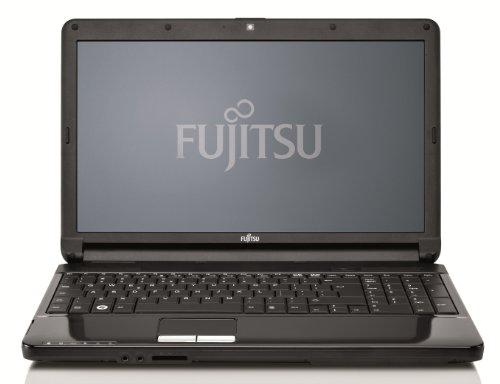 Fujitsu Lifebook AH530 39,6 cm (15,6 Zoll) Notebook (Intel Pentium P6200, 2,1GHz, 4GB RAM, 500GB HDD, Intel HD, DVD, Win 7 HP)