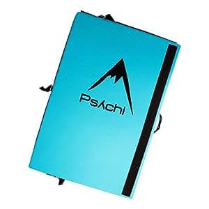 Psychi Bouldering Boulder Crash Mat Pad for Climbing (Blue)