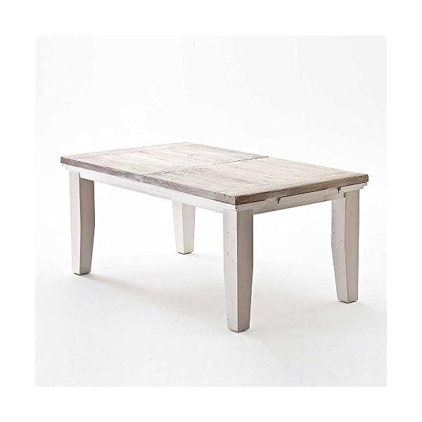 Esszimmer Tischgruppe Aragona In Weiss 6 Teilig Pharao24