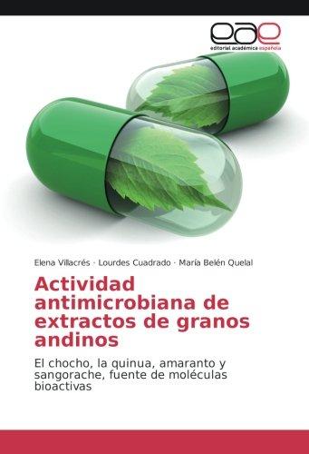 Actividad antimicrobiana de extractos de granos andinos: El chocho, la quinua, amaranto y sangorache, fuente de moléculas bioactivas