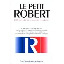 Le nouveau Petit Robert : dictionnaire...