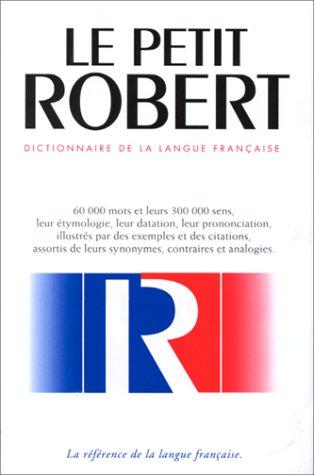 Le Nouveau Petit Robert : Dictionnaire Alphabetique Et Analogique De La: 1 (Le petit robert) por M Legrain