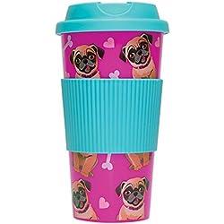 Vaso de Pug Travel Mug