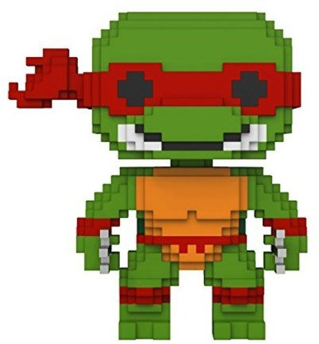 (Pop 8 Bit Teenage Mutant Ninja Turtles Raphael Vinyl Figure)
