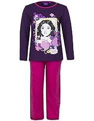 Violetta - Pyjama long enfant Violetta violet Taile de 6 à 8 ans - 6 ans,8 ans,10 ans,12 ans