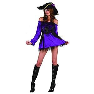 Reír Y Confeti - Fiapir033 - Para adultos traje - Princesa del pirata Traje - Mujer - Talla S