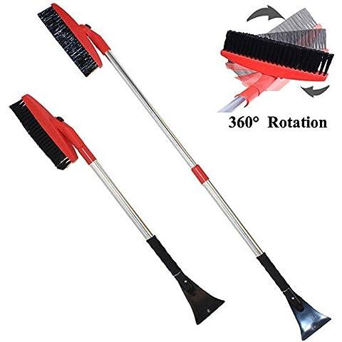 Yongse 125 centimetri retrattile rotazione delle spazzole