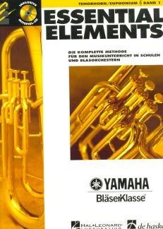 ESSENTIAL ELEMENTS 1 - arrangiert für Tenorhorn - mit CD [Noten / Sheetmusic] Komponist: LAUTZENHEISER TIM / HIGGINS JOHN / MENGHINI CHARLES / LAVENDER aus der Reihe: YAMAHA BLAESERKLASSE