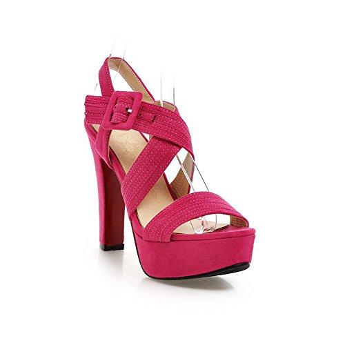 1TO9, Sandali donna Rosa Rosso