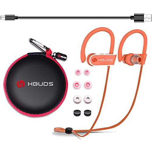 Cuffie Bluetooth Senza Fili 4.1 Auricolari Bluetooth Wireless Sport Hbuds H1 con Microfono Stereo e Impermeabile IPX7 Auricolare per iphone/sony/Android/Huawei/Samsung/Watch