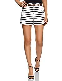 Amazon.fr   Blanc - Shorts et bermudas   Femme   Vêtements 7c97e75b6e1