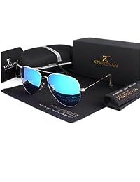 DLuxoMode Gafas De Sol Unisex Polarizadas, Gafas de sol aviador Hombre Mujer, Gafas polarizadas