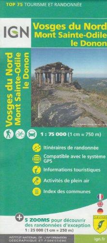 ign-top-75-vosges-montagne-nord-mont-sainte-odile-le-donon-1-75-000-1-25-000-carte-topographique-de-randonne-alsace-france-ign