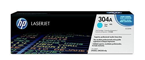 HP 304A (CC531A) Blau Original Toner für HP Color LaserJet CP2025, CM2320 -