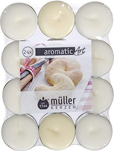 Bougie Parfumée avec couvercle Fraise Müller parfum-Photophore Arôme Bougie dans le verre