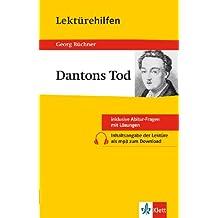 Klett Lektürehilfen Dantons Tod: für Oberstufe und Abitur - Interpretationshilfe für die Schule