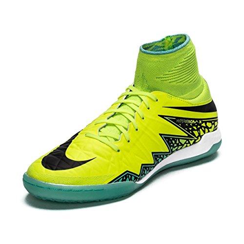 Nike Hypervenomx Proximo Ic, Scarpe da Calcio Uomo Verde (Verde (Verde (Volt/Black-Black)))