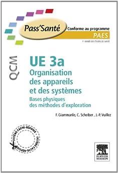 UE 3a - Organisation des appareils et des systèmes - QCM: Bases physiques des méthodes d'exploration par [Giammarile, Francesco, Scheiber, Christian, Vuillez, Jean-Philippe]