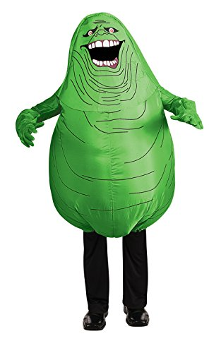 Official Ghostbusters Inflatable Slimmer Costume Adults One Size