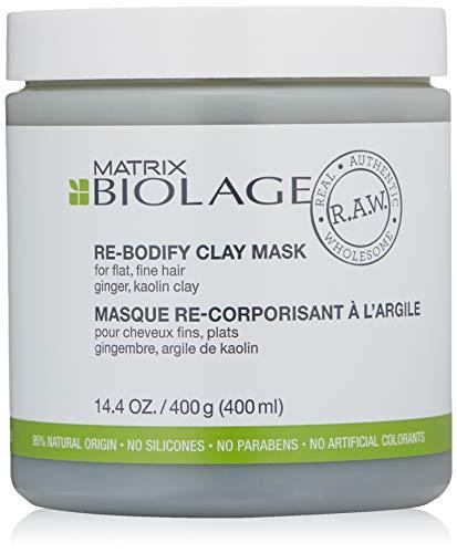 Matrix Biolage R.A.W. Re-Bodify 400ml maschera per capelli Donne