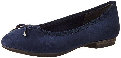 Marco Tozzi Women's 22135 Ballet Flats, Blue (Navy 805), 6 UK