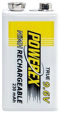 Maha-Energy 9.6v 230mAh PP3 battery