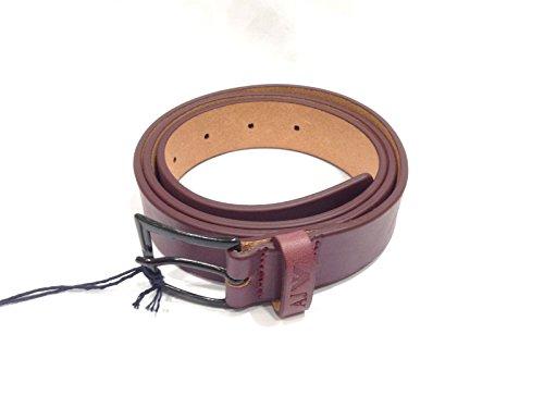 Armani Jeans ceinture homme en cuir vintage violet EU 90 A6126 D5 R4 258492aba5e