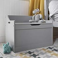 Noa and Nani - Lola Toy Box Toy Storage Organiser - (Silk Grey)