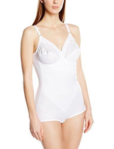 Triumph Damen Formender Body Formfit BS , Weiß (WHITE (03)), One size (85 B)