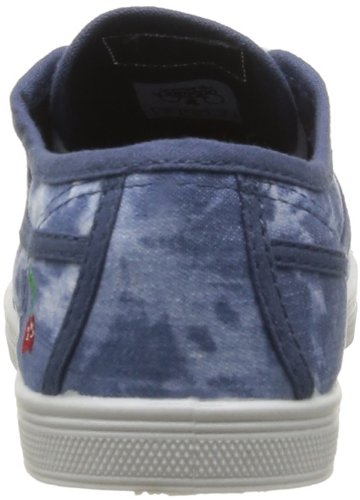 Cherry Time Basic 02, Damen Sneaker Blau (tie & Dye Blue)