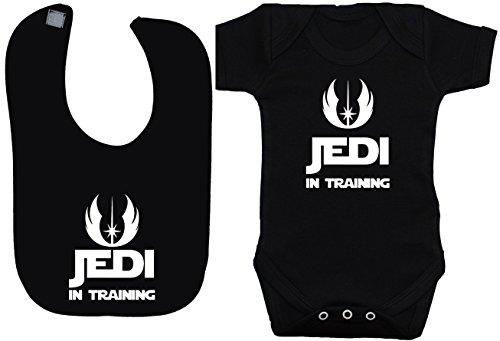 Jedi in Training Body bebé/bebé/Chaleco/Camiseta