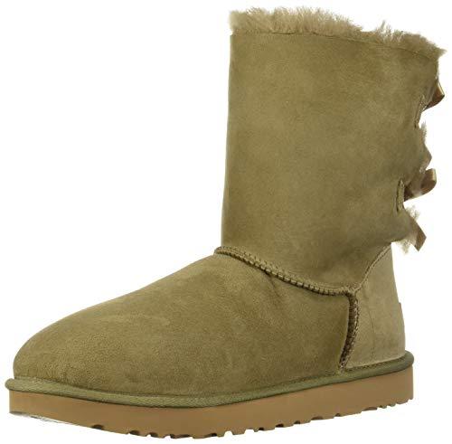 Ugg Lace Up Boots (UGG Australia Damen Stiefeletten Bailey Bow II 1016225-ALP beige 584297)