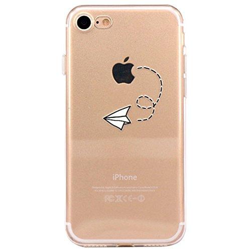 Custodia Per iPhone 7 4.7,Hippolo Custodia Protettiva Shell Case Cover Per iPhone 7 4.7 in Silicone TPU (Per iPhone 7 4.7, 8) 10