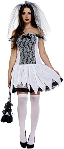 Sexy zombie bride costume - donna - halloween costume - one size