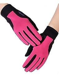IKuaFly des Gants Tactiles Polaire - Moto Golf Ski Vvt Velo Running Windstopper- Homme Femme Gym Gloves