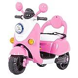 kidfun Scooter Elettrico per Bambini 6V Rosa