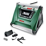 Radio de chantier sans fil Bosch - PRA Multipower avec Bluetooth (Livré sans batterie 18V ni chargeur)