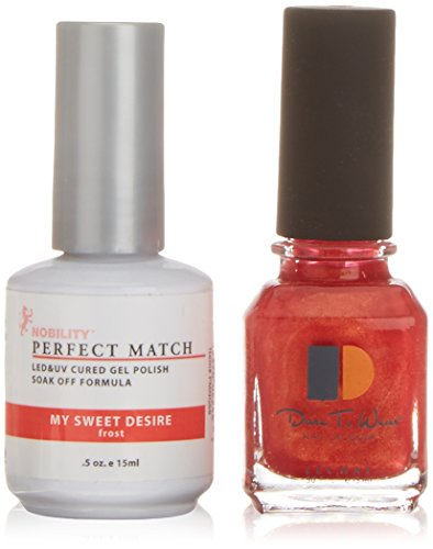 Lechat Perfect Match UV/LED Gel Smalto per Unghie, My Sweet Desire