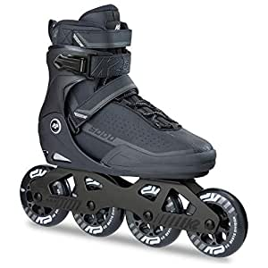 K2 Erwachsene Frauen Männer Fitness Inline Skates Sodo - Schwarz-Grau - EU: 38 (US: 6 - UK: 5) - 30B0024.1.1.060