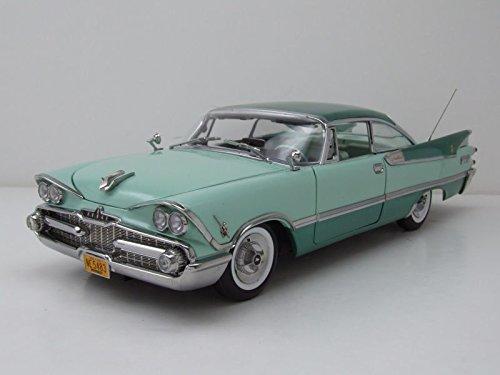 Dodge Custom Royal Lancer Hardtop 1959 türkis/grün, Modellauto 1:18 / Sun Star Custom Hardtop