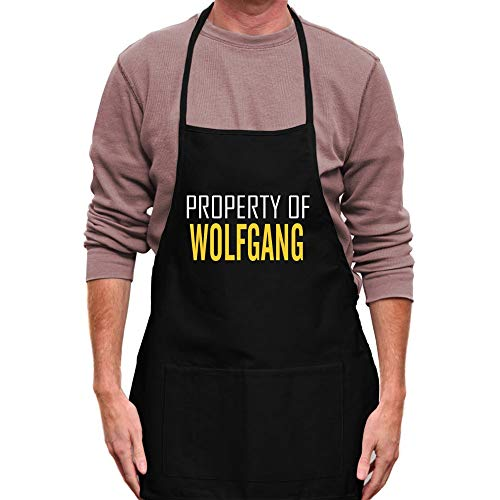 Teeburon Property of Wolfgang Bold Text Tablier 24' Wide by 30'...