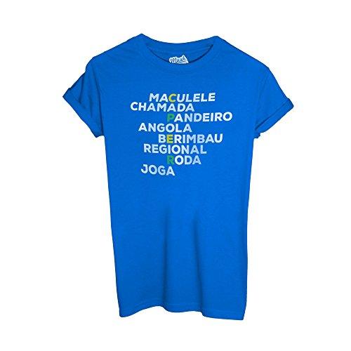 MUSH T-Shirt Capoeira - Sport Dress Your Style Blu Royal