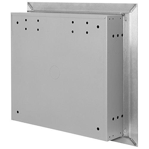 MOCAVI UP1 Edelstahl Unterputz-Briefkasten, Qualitäts-Postkasten unter Putz aus deutscher Fertigung, Einbau-Edelstahlbriefkasten - 5