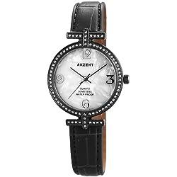 Akzent Damen-Armbanduhr XS Analog Quarz verschiedene Materialien ss8072000008
