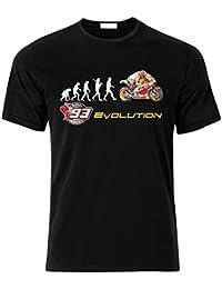 Biker EVOLUTION HONDA RC213V Moto GP 93 Marc Marquez Fan T Shirt T-SHIRT