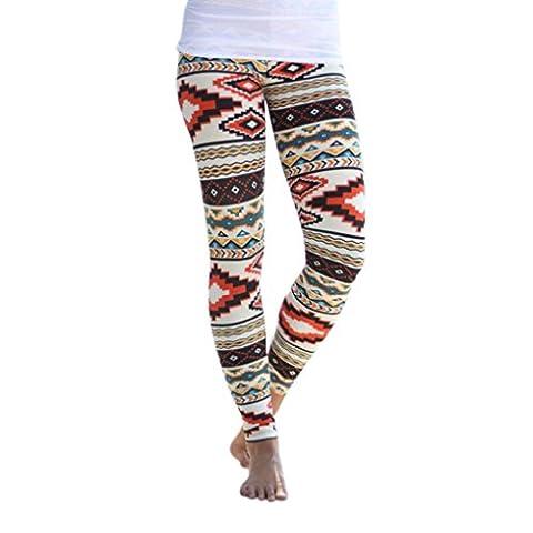 omiky® Femmes extensible Skinny en coton Legging, 1Athletic Sport Gym Fitness Yoga Jeggings pour femme petit noir