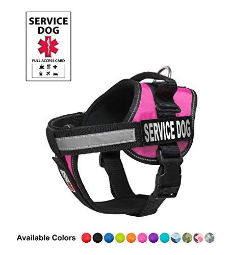 Dogline Unimax Service Hundeweste, inkl. gratis Service Hundeausweis mit ADA-Recht, Extra Large (36